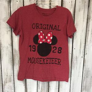 Disney: Minnie Mouse t-shirt Distressed style SZ L